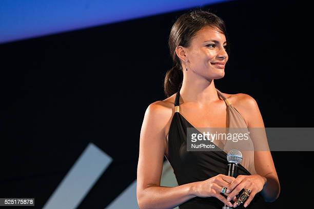 Shalana Santana attends the 61th annual Taormina Film Festival Festival in Taormina, Sicily Island, Italy, on June 15, 2015.