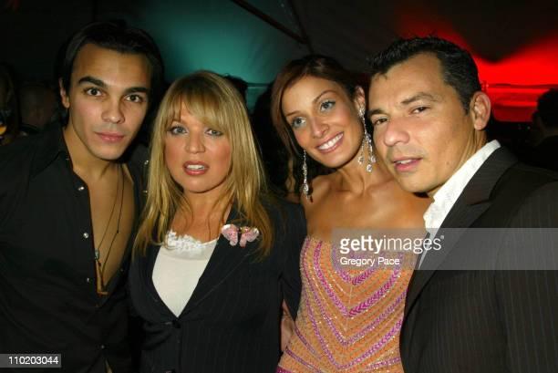 Shalim Ednita Nazario Dayanara Torres and Gustavo Arango fashion designer