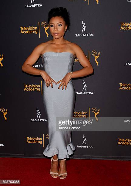 Shalita Grant attends the Television Academy and SAGAFTRA's 4th annual Dynamic and Diverse Celebration at Saban Media Center on August 24 2016 in...