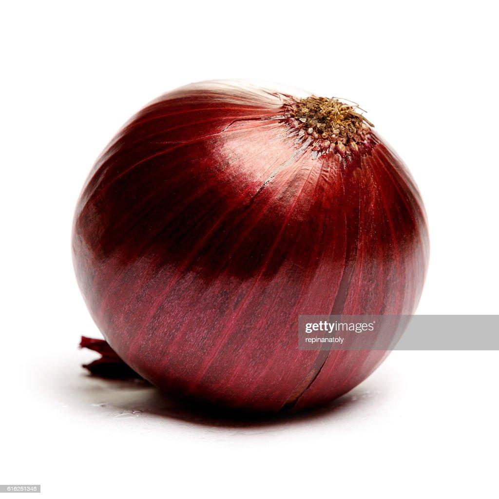 shallot onion isolated on white background : Stock Photo