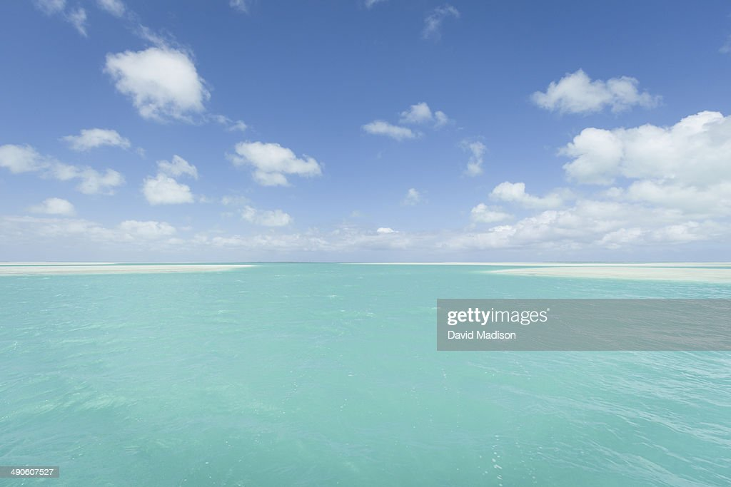 Shallow Lagoons Christmas Island Kiribati Stock Photo | Getty Images