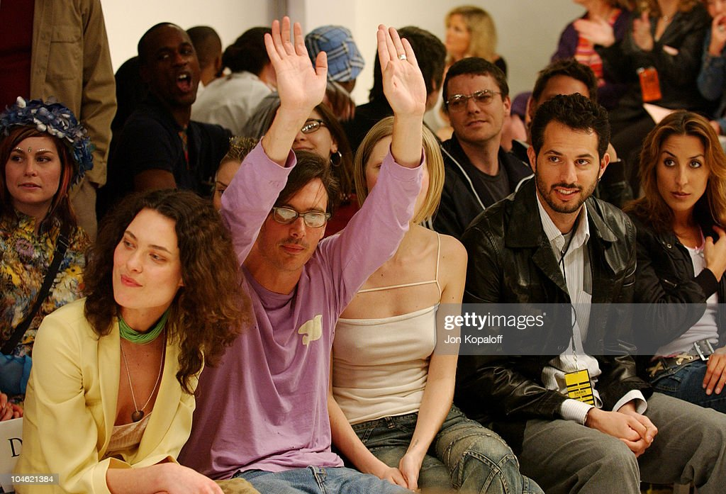 Shalom Harlow, Donovan Leitch, Kirsty Hume and Guy Oseary