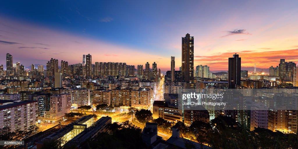 Sham Shui Po, Hong Kong : Stock Photo