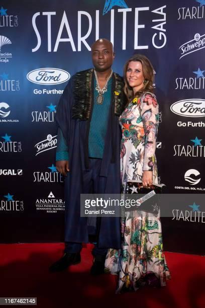 Shaman Durek and Princess Märtha Louise of Norway attend Starlite Gala on August 11 2019 in Marbella Spain
