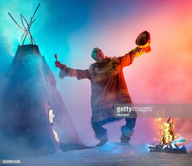 chamanique de danse - cérémonie photos et images de collection