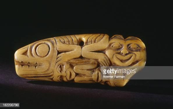 Shamans ivory amulet, Northwest Coast of America  Tlingit