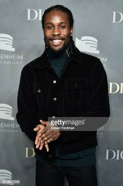 Shameik Moore attends the 2017 Guggenheim International Gala PreParty made possible by Dior on November 15 2017 in New York City