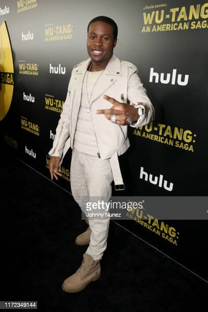 Shameik Moore attends the WuTang An American Saga Premiere on September 04 2019 in New York City