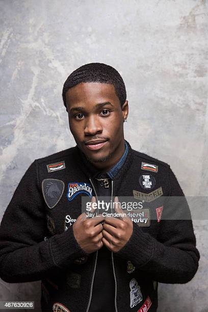 Shameik Moore is photographed for Los Angeles Times at the 2015 Sundance Film Festival on January 24 2015 in Park City Utah PUBLISHED IMAGE CREDIT...