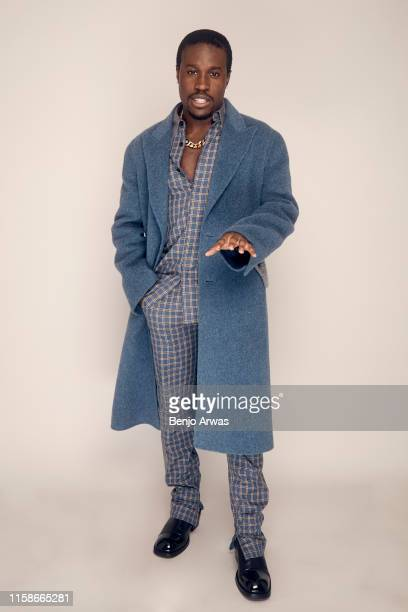 Shameik Moore of Hulu's 'WuTang An American Saga' poses for a portrait during the 2019 Summer TCA Portrait Studio at The Beverly Hilton Hotel on July...