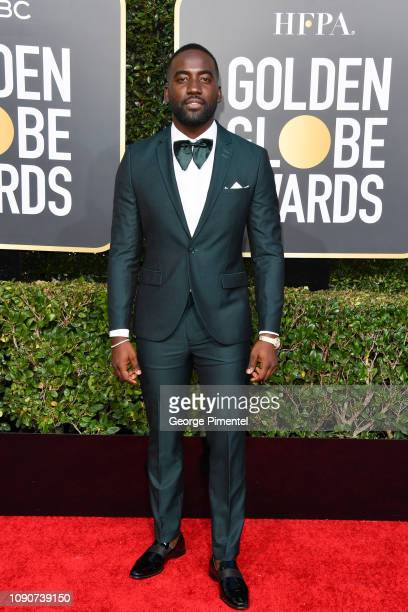 Shamier Anderson attends the 76th Annual Golden Globe Awards held at The Beverly Hilton Hotel on January 06 2019 in Beverly Hills California