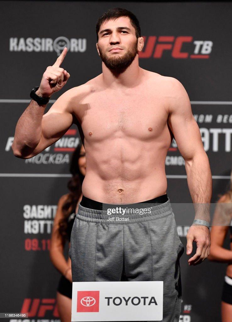 UFC Fight Night Zabit v Kattar: Weigh-Ins : News Photo