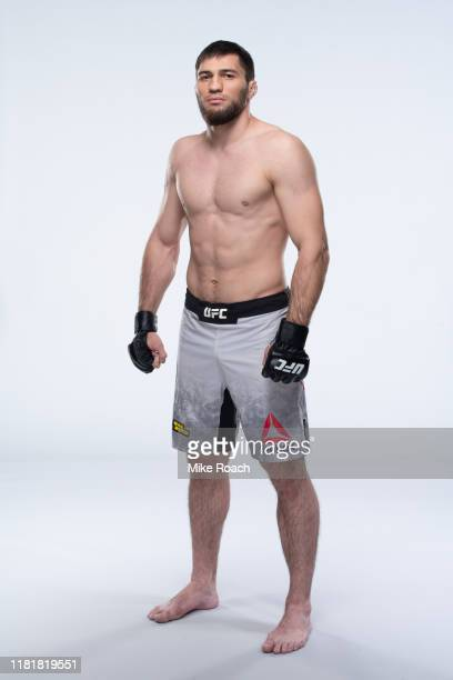 Shamil Gamzatov poses for a portrait during a UFC photo session on November 6 2019 in Moscow Russia