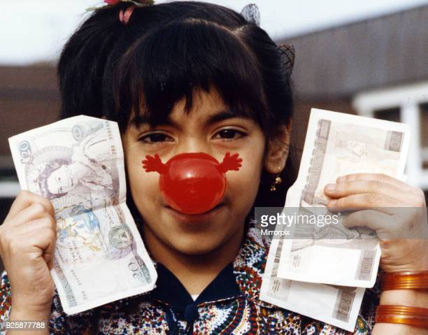 Shamila Elahi eight surprised the head teacher of Abingdon Junior School Middlesbrough when he asked his pupils to pay at least 60p for a red nose...