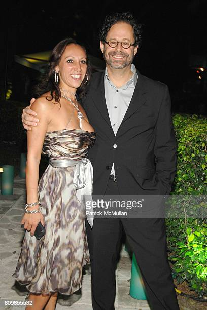 Shamim Momin and Adam Weinberg attend DAVID YURMAN and THE WHITNEY MUSEUM host 'OUT OF THE ARCHIVES' at The Sagamore on December 5 2007 in Miami...