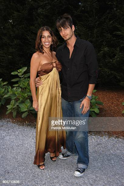 Shamin Abas and Adam Lipson attend ART FOR LIFE benefit for the RUSH PHILANTHROPIC ARTS FOUNDATION hosted by Russell and Kimora Lee Simmons at...