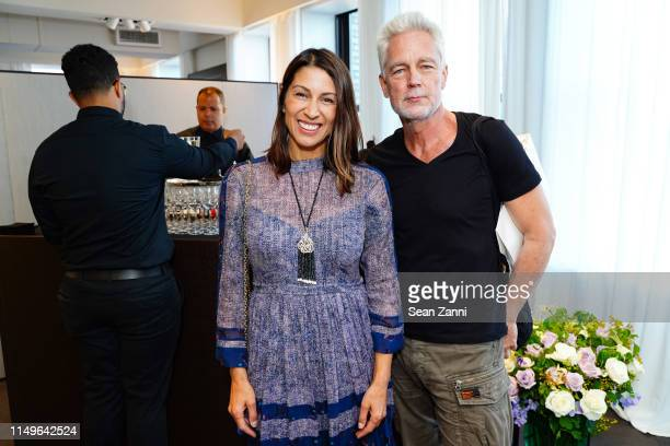 Shamin Abas and JeanMarc Sideratos attend Promemoria New York City Flagship Opening at Promemoria on June 11 2019 in New York City