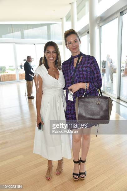 Shamin Abas and Paige Hope attend The Bridge 2018 at The Bridge on September 15 2018 in Bridgehampton NY
