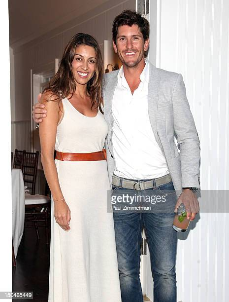 Shamin Abas and Polo player Nic Roldan attend Grey Goose Summer Punch Film Series hosted by Polo Player Nic Roldan Grey Goose at Inn at Windmill Lane...
