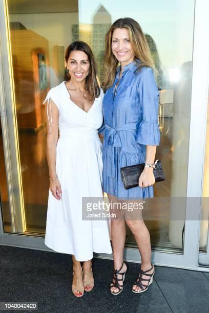Shamin Abas and Sharon Cardel attend The Bridge 2018 at The Bridge on September 15 2018 in Bridgehampton NY