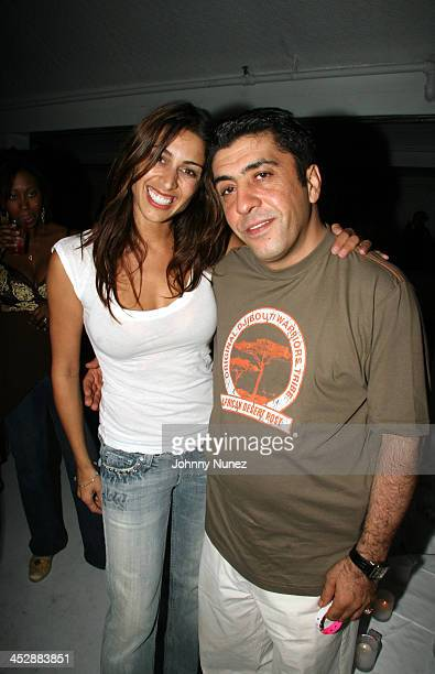 Shamin Abas and Sol Rafael during Motorola and Anheuser Busch Presents the Baby Phat Summer Kick Off Party - May 27, 2006 at Resort Nightclub in The...