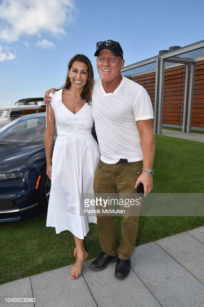 Shamin Abas and Steve Madden attend The Bridge 2018 at The Bridge on September 15, 2018 in Bridgehampton, NY.