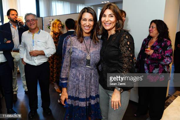 Shamin Abas and Tamara Grove attend Promemoria New York City Flagship Opening at Promemoria on June 11 2019 in New York City