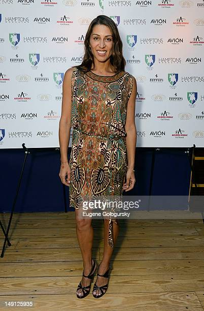 Shamin Abas attends Hamptons Magazine Celebrates Its Cover Stars Veronica Webb And Chris Del Gatto at The Hamptons Players Club on July 20, 2012 in...
