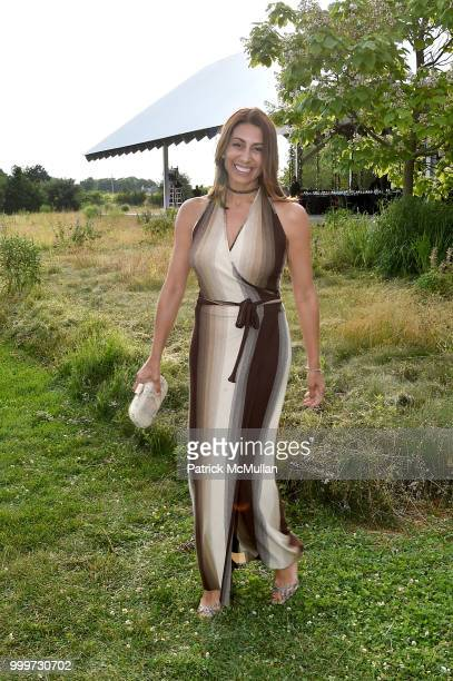 Shamin Abas attends the Parrish Art Museum Midsummer Party 2018 at Parrish Art Museum on July 14 2018 in Water Mill New York
