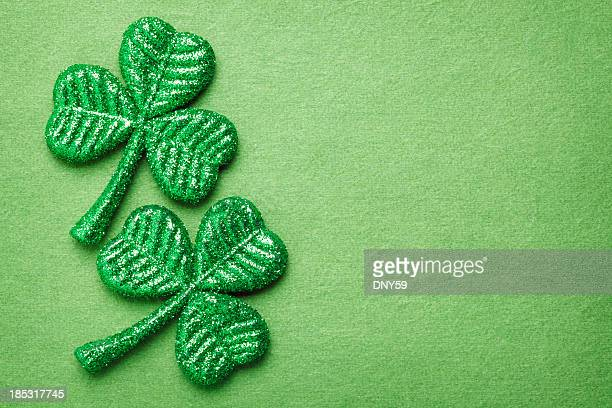 shamrocks - st patricks stock pictures, royalty-free photos & images