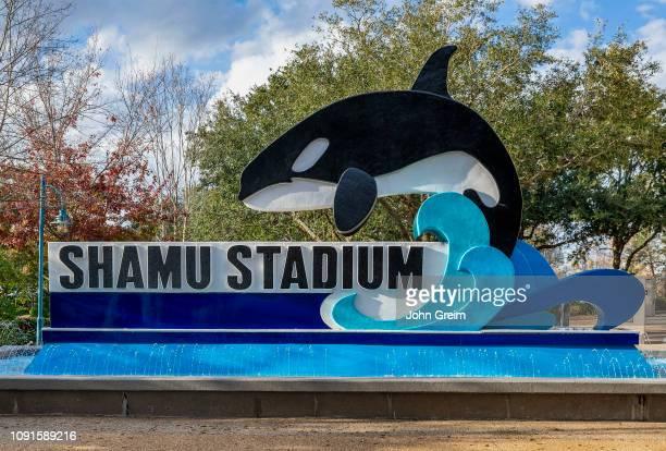 Shamu Stadium at Seaworld marine park, Orlando Florida.