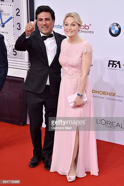 Shan and Claudia Rahimkhan attend the Lola German Film Award on May 27 2016 in Berlin Germany