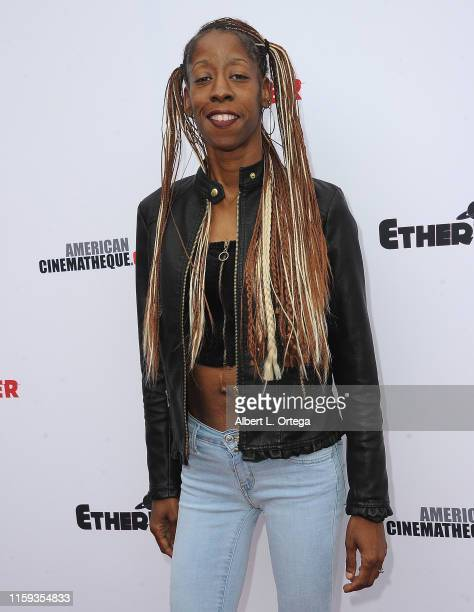 Shana Clark attends the 6th Annual Etheria Film Showcase held at American Cinematheque's Egyptian Theatre on June 29 2019 in Hollywood California