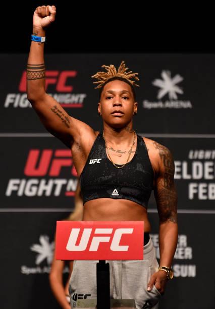 NZL: UFC Fight Night Felder v Hooker: Weigh-Ins
