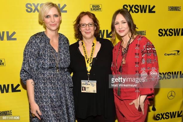 Shana Feste SXSW Film Festival Director Janet Pierson and Vera Farmiga attend the 'Boundaries' Premiere 2018 SXSW Conference and Festivals at...