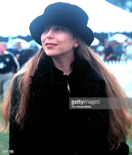 Shana Morrison Backstage at the Guiness Fleadh at Golden Gate Park Polo Fields in San Francisco Calif on June 5th 1999 Image By Tim Mosenfelder/Getty...