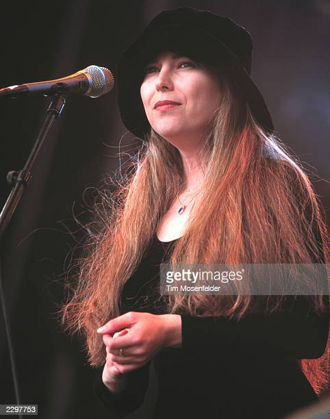Shana Morrison Performing at the Guiness Fleadh at Golden Gate Park Polo Fields in San Francisco Calif on June 5th 1999 Image By Tim...