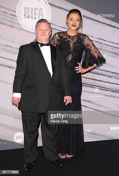 Shana Swash and Steven Brandon attend The British Independent Film Awards at Old Billingsgate Market on December 4 2016 in London England