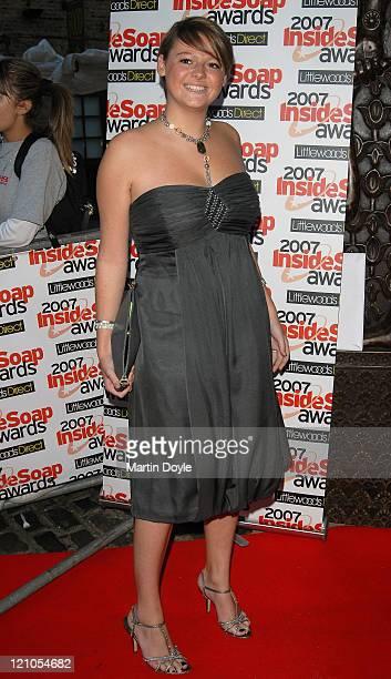Shana Swash at the 2007 Inside Soap Awards September 24 2007 in London England