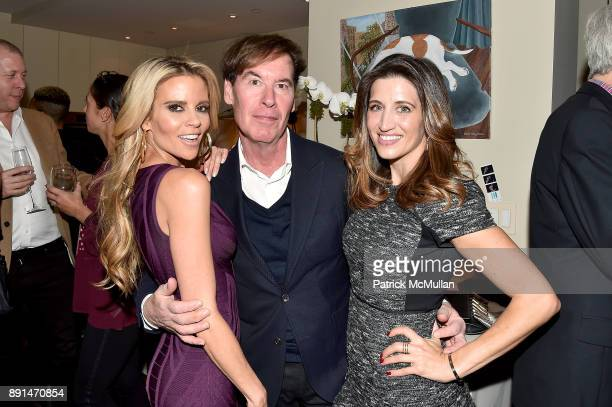 Shana Wall John Mather and Megan Murphy attend the Galvanized Media Holiday Party and Dave Zinczenko's Birthday Celebration at Private Residence on...
