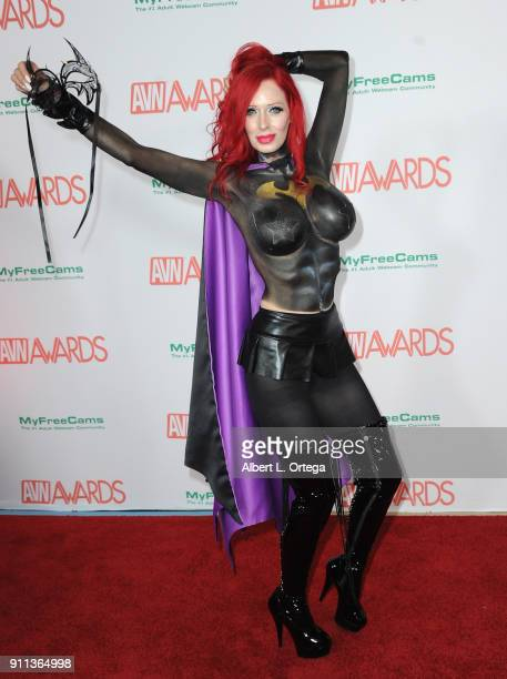 ShandaFay attends the 2018 Adult Video News Awards held at Hard Rock Hotel Casino on January 27 2018 in Las Vegas Nevada