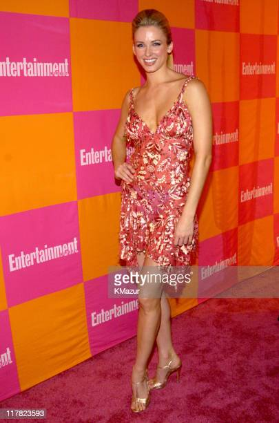 Shandi Finnessey 2004 Miss USA during Entertainment Weekly's Celebration of The Must List The 137 People Things We Love This Summer Issue PreShow at...