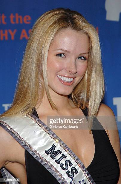 Shandi Finnessey during 8th Annual Muscular Dystrophy Association's Muscle Team 2005 Gala at Chelsea Piers in New York City, New York, United States.