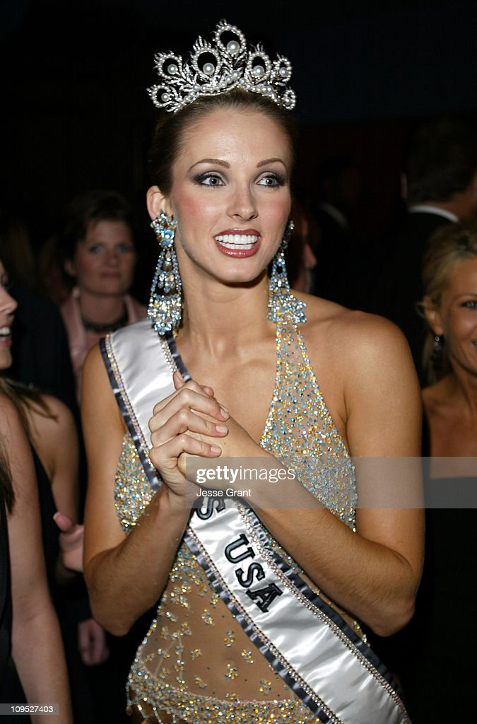 Shandi Finnessey, Miss USA 2004 during The 53rd Annual Miss USA Competition - After Party at Avalon in Hollywood, California, United States.