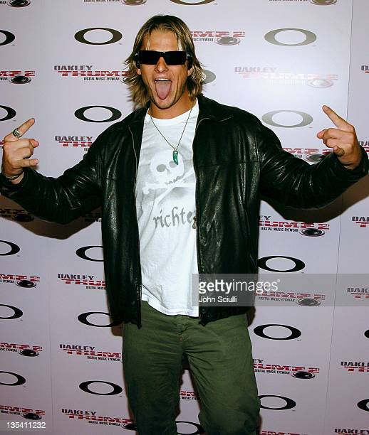 Shane Anderson during Oakley Thump 2 Launch Party October 12 2005 at Montmartre Lounge in Hollywood California United States