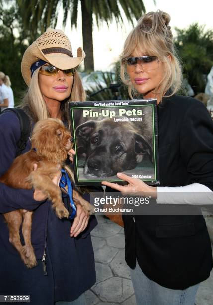 Shane Barbi and Sia Barbi attend the Much Love Animal Rescues Bow Wow Ciao Benefit at the Serra Retreat on August 5 2006 in Malibu California