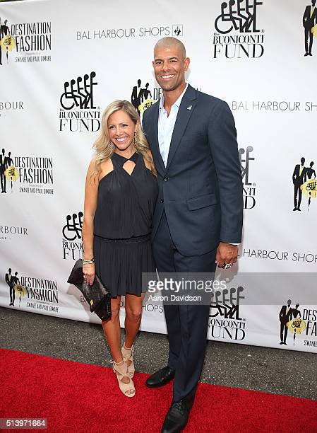 Shane Battier and Heidi Ufer attends Destination Fashion 2016 to benefit The Buoniconti Fund to Cure Paralysis the fundraising arm of The Miami...