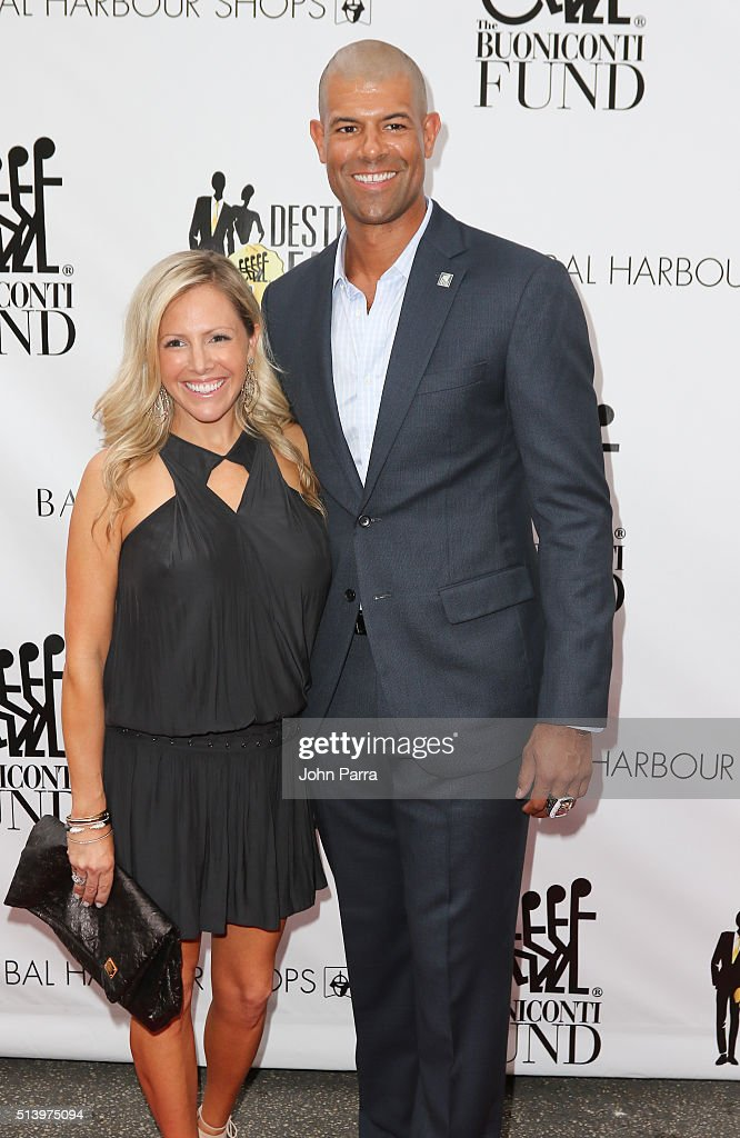 Shane Battier and Heidi Ufer attend Destination Fashion 2016 to benefit The Buoniconti Fund to Cure Paralysis, the fundraising arm of The Miami Project to Cure Paralysis at Bal Harbour Shops on March 5, 2016 in Miami, Florida.