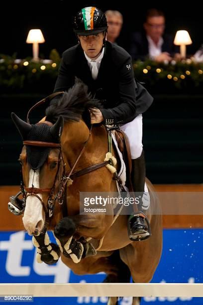 Shane Breen attends during CSI Casas Novas Horse Jumping Competition on December 10 2017 in A Coruna Spain