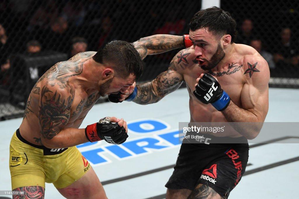 UFC Fight Night: Swanson v Burgos : News Photo